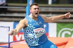 Stratosferico Carmelo Musci, ancora record nel disco