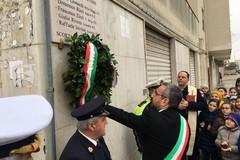 L'omaggio della città di Bisceglie ai Caduti di via Fani