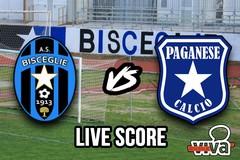 Bisceglie-Paganese 4-3, il live score