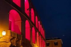Palazzo San Domenico si illumina di rosso per la Giornata del donatore di sangue