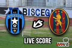 Bisceglie-Potenza 0-3, il live score