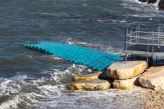 «Smonteremo la pedana galleggiante in questi giorni»