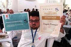 Lo chef biscegliese Francesco Losapio sbaraglia tutti e conquista l'Eraclio d'oro
