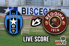 Bisceglie-Reggina 1-2, il live score