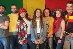 La band Rhomanife in concerto a Bisceglie