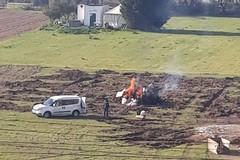 Polizia Locale in azione contro i roghi nei terreni agricoli