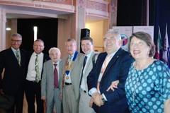 """Il premio """"Paul Harris Fellow"""" all'architetto Sinigaglia e al Rotary Club di Bisceglie"""