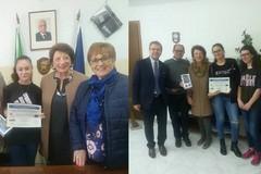 Due studentesse biscegliesi premiate a Roma dal Rotary
