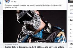Junior Cally a Sanremo, Salvini rilancia l'articolo di BisceglieViva