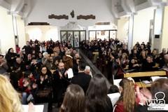 Benedizione degli zainetti alla parrocchia San Vincenzo de' Paoli