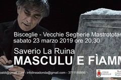 Saverio La Rina in Masculu e Fiammina