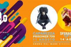 Caparezza e SferaEbbasta star dello Sbat! Music Festival all'Arena del Mare