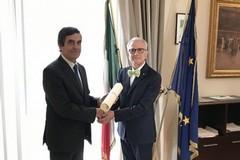 Sergio Caggianelli Cavaliere dell'Ordine al merito della Repubblica