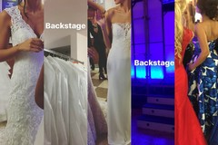 Fashion show in backstage, cataclismi dietro la quiete
