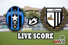 Bisceglie-Sicula Leonzio 0-1, il live score