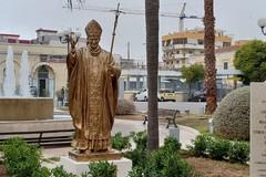 Inaugurato il monumento a San Giovanni Paolo II in piazza Diaz