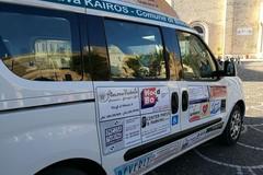 Il taxi sociale della Cooperativa Kairos a disposizione dei bisognosi