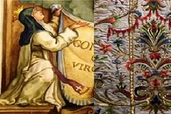 """""""Trame preziose"""", conversazione sul restauro dei materiali tessili ricamati in oro e argento"""