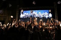 Tripudio di folla per Paolo Mieli e Marcello Veneziani, che chiudono l'ottava super edizione di Libri Nel Borgo Antico