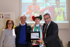 Bisceglie festeggia il campione italiano di ciclocross Ettore Loconsolo