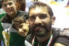 Tommaso Cilardi ai Mondiali veterani di lotta libera in Georgia