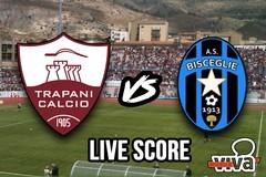 Trapani-Bisceglie 1-0, Nzola decide la sfida