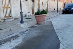 Spina torna sul rattoppo in via Trento