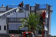 Intervento dei Vigili del fuoco in via Sant'Andrea