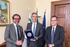 Il nuovo Prefetto Valiante accolto a Palazzo San Domenico