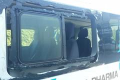 Tentato il furto del furgone dei Lions Basket, danni ingenti