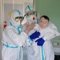 Il piccolo Domenico, 5 mesi, guarito dal Covid