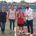 Michele Prete finalista del torneo Kinder Trophy Under 13
