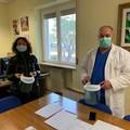 Il Rotary Club dona visiere protettive all'ospedale di Bisceglie
