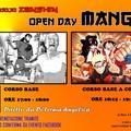 I fumetti manga, protagonisti di un open day presso il Dojo Zanshin