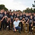 """Brass ensemble  """"Il cenacolo """" ospite della Notte bianca della poesia di Giovinazzo"""