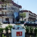 Bis del maestro Ventura, installazione artistica in via Sant'Andrea