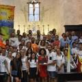 Palio della Quercia, Santa Messa di benedizione delle squadre in Cattedrale