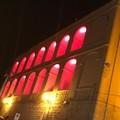 Rosso Adisco sulla facciata di Palazzo San Domenico