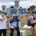 Adriana Cosmai migliora ancora il suo primato nel lungo