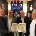 Bartolo Sasso e Pierpaolo Sinigaglia ricevono le attestazioni Ancri