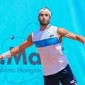 Pellegrino sconfitto al torneo di Biella