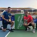 Andrea Pellegrino trionfa nel doppio in India