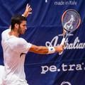 Andrea Pellegrino alle qualificazioni per il torneo di Roma