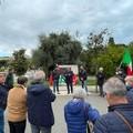 «No alla violenza», iniziativa del Pd davanti al monumento a Di Vittorio