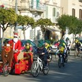 Biciclettata a tema natalizio organizzata dalla Ludobike