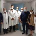 Vaccini anti-Covid, terza dose per il personale di malattie infettive dell'ospedale di Bisceglie