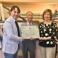 """Premio  """"don Tonino Bello """" al maestro Benedetto Grillo"""