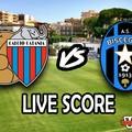 Catania-Bisceglie 3-0, il live score