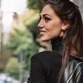 Cecilia Rodriguez a Bisceglie per un servizio fotografico