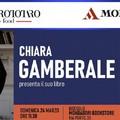 """Chiara Gamberale presenta il suo libro """"L'isola dell'abbandono"""""""